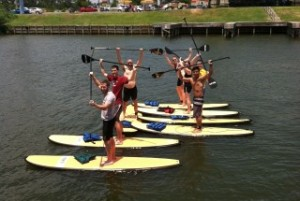 Stand up paddle boards lake conroe