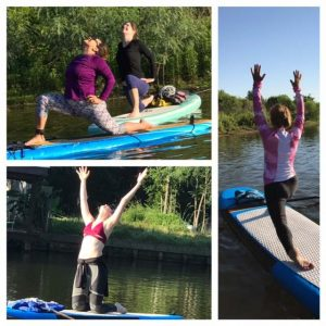 Yoga on Paddleboards