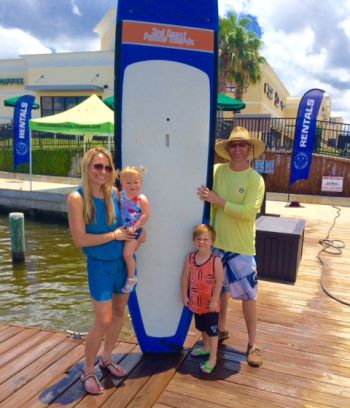 Paddle boards lake conroe